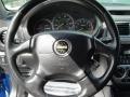 Black 2002 Subaru Impreza WRX Sedan Steering Wheel