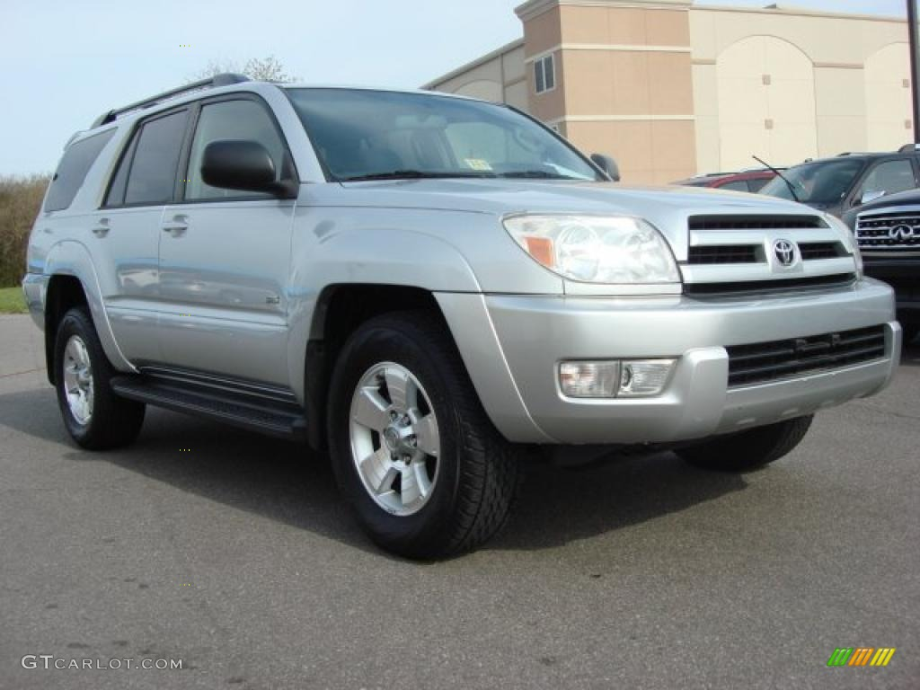 2004 titanium metallic toyota 4runner sr5 47005220 car color galleries. Black Bedroom Furniture Sets. Home Design Ideas