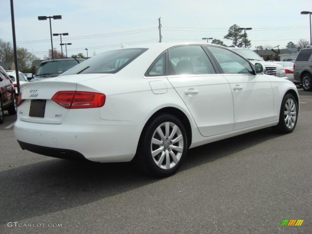 ibis white 2009 audi a4 2 0t sedan exterior photo 47038191. Black Bedroom Furniture Sets. Home Design Ideas