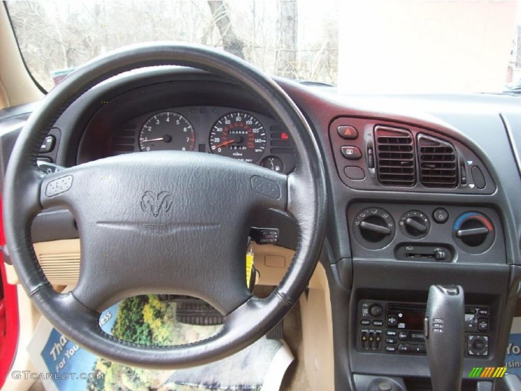 1997 Dodge Avenger Es Coupe Tan Dashboard Photo 47045222