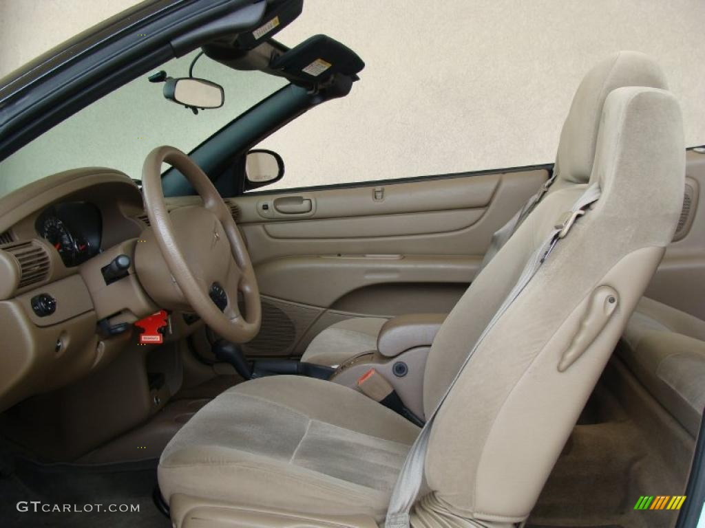Sandstone Interior 2004 Chrysler Sebring Lx Convertible Photo 47053260