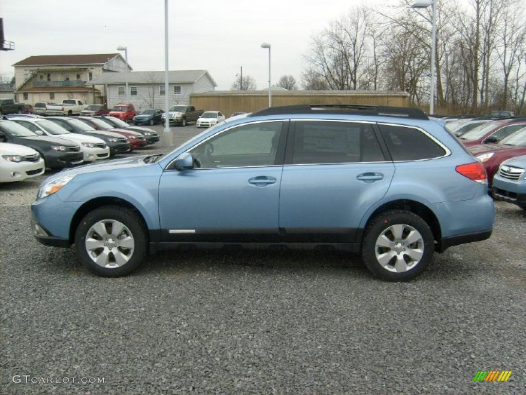 sky blue metallic 2011 subaru outback premium wagon exterior photo 47059805. Black Bedroom Furniture Sets. Home Design Ideas