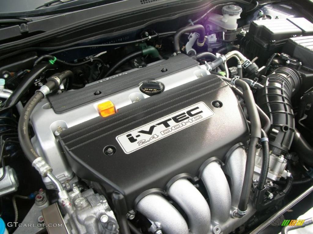 2007 Honda Accord Ex Sedan 2 4l Dohc 16v I Vtec 4 Cylinder