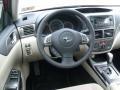 2011 Subaru Impreza Ivory Interior Steering Wheel Photo