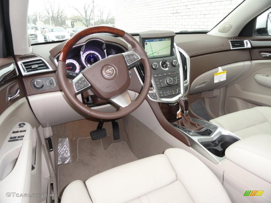 Shale Brownstone Interior 2011 Cadillac Srx Fwd Photo 47066171
