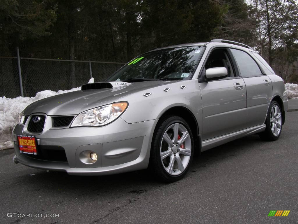 2007 crystal gray metallic subaru impreza wrx wagon 4694053 2007 impreza wrx wagon crystal gray metallic anthracite black photo 1 vanachro Image collections