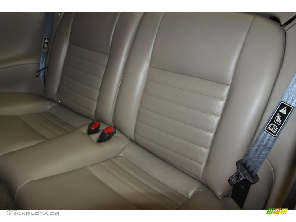 Medium Parchment Interior 2002 Ford Mustang GT Coupe Photo #47070698