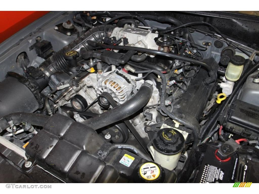 2002 Ford Mustang GT Coupe 4.6 Liter SOHC 16-Valve V8 Engine Photo #47071208