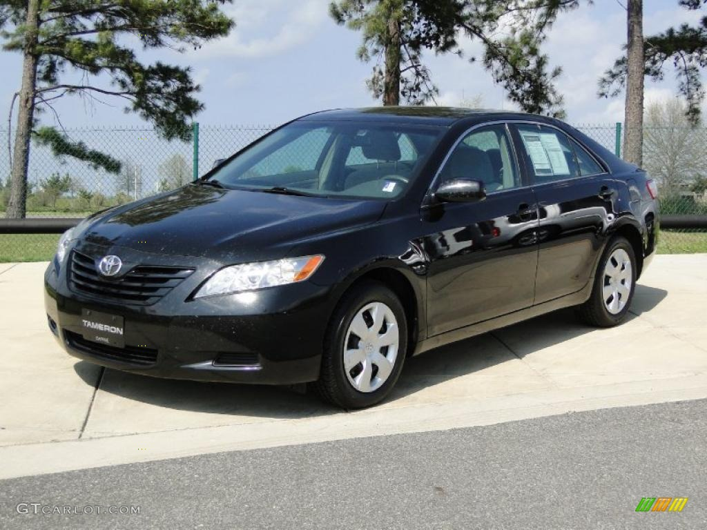 Black 2008 toyota camry le exterior photo 47075741