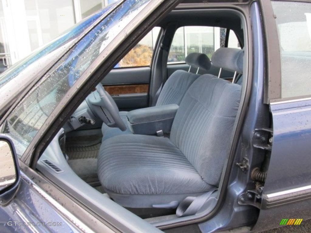 Blue Interior 1994 Buick Lesabre Custom Photo 47077958