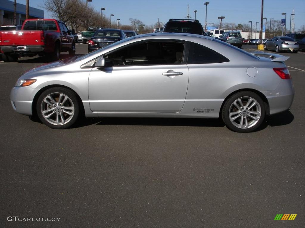 Alabaster Silver Metallic 2007 Honda Civic Si Coupe Exterior Photo ...