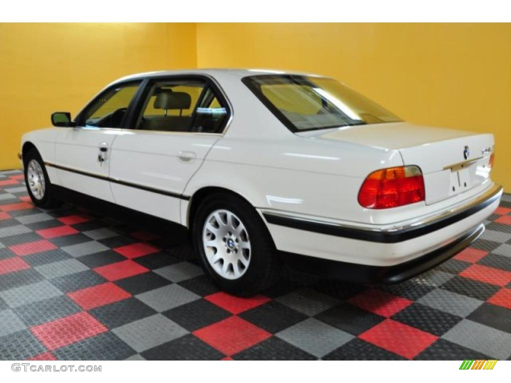 Alpine White 2000 BMW 7 Series 740iL Sedan Exterior Photo ...