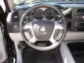Light Cashmere/Ebony Accents Steering Wheel Photo for 2008 Chevrolet Silverado 1500 #47082812