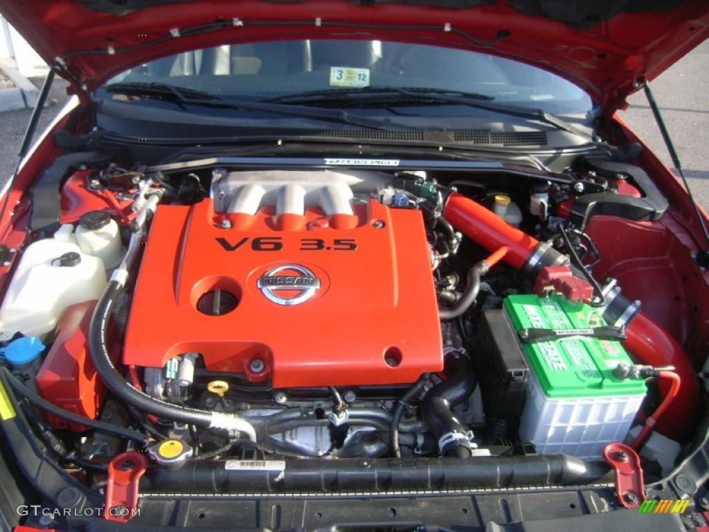 2005 Nissan Altima 3 5 Se R 3 5 Liter Dohc 24 Valve V6