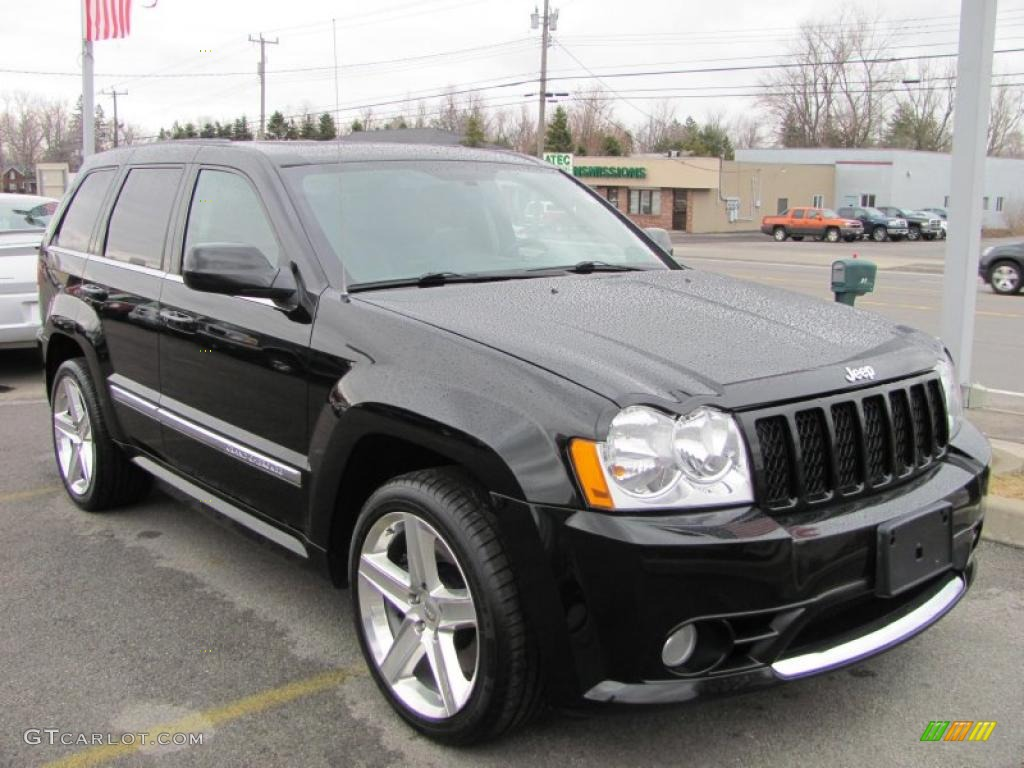 Superior Black 2007 Jeep Grand Cherokee SRT8 4x4 Exterior Photo #47089763