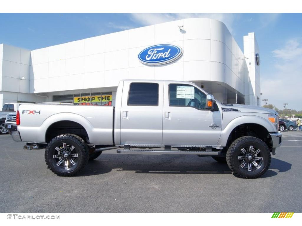 2011 ford f250 super duty lariat crew cab 4x4 custom wheels photo 47093447