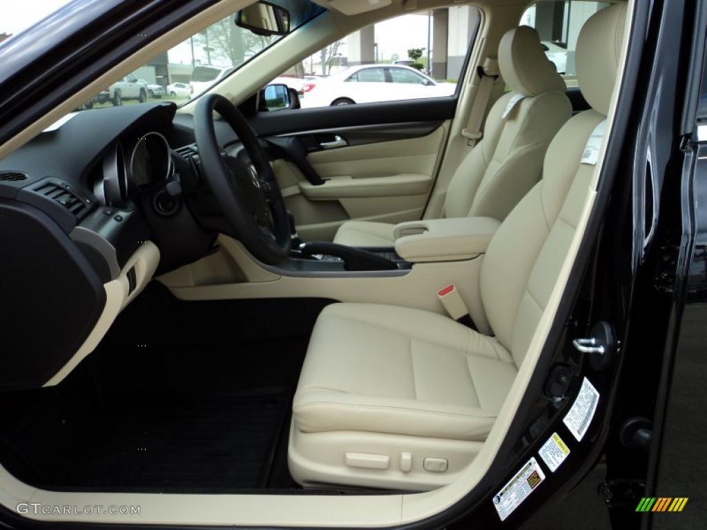 Parchment Interior 2012 Acura Tl 3 5 Technology Photo 47104130 Gtcarlot Com