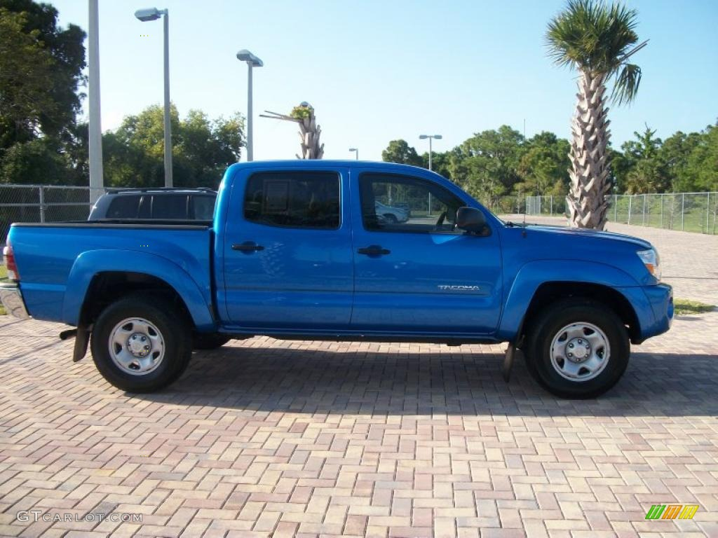 2010 speedway blue toyota tacoma v6 sr5 prerunner double cab 47058227 gtcarlot com car