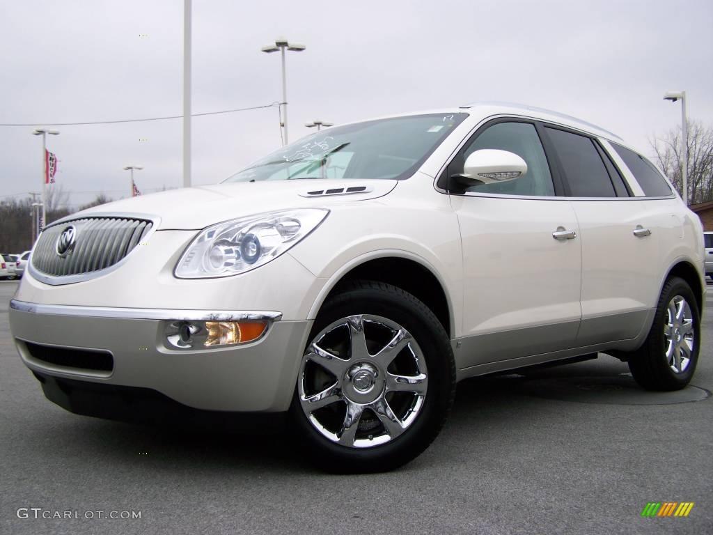2008 white diamond tri coat buick enclave cxl 4683956 car color galleries. Black Bedroom Furniture Sets. Home Design Ideas