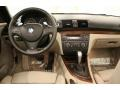 2010 BMW 1 Series Taupe Boston Leather Interior Dashboard Photo