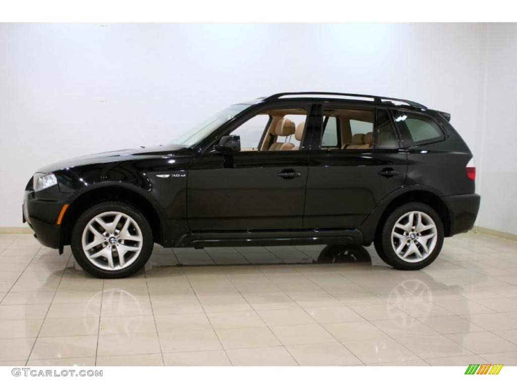 jet black 2008 bmw x3 exterior photo 47110328. Black Bedroom Furniture Sets. Home Design Ideas