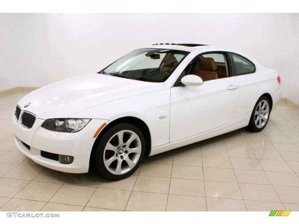 Alpine White 2008 Bmw 3 Series 328xi Coupe Exterior Photo