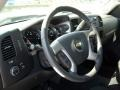 2011 Black Chevrolet Silverado 1500 LT Crew Cab  photo #7