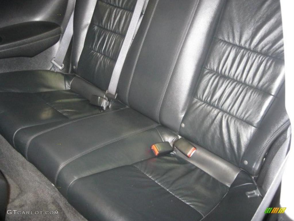 Black Interior 2008 Honda Accord Ex L Coupe Photo 47118269