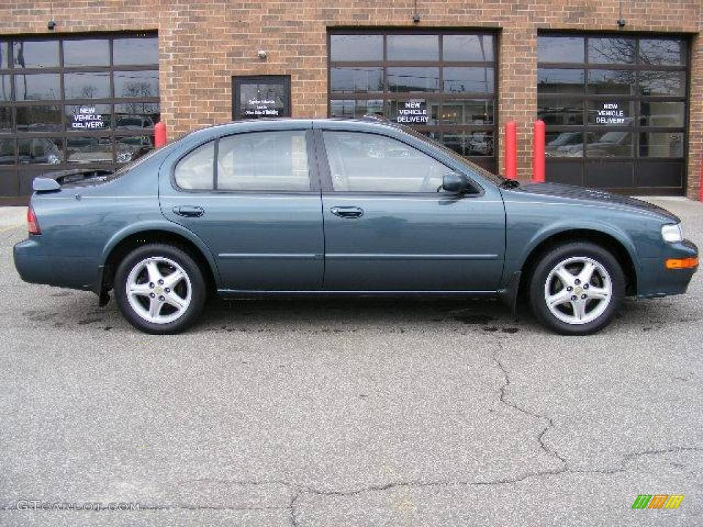 1998 blue green pearl nissan maxima #4683099 photo #2 | gtcarlot