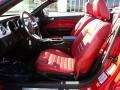 Red Leather Interior Photo for 2005 Ford Mustang #47121678