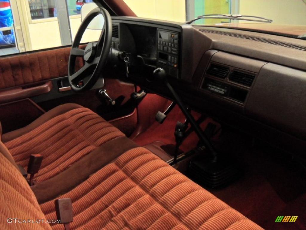 1992 Chevrolet C K K1500 Regular Cab 4x4 Interior Photo 47128698