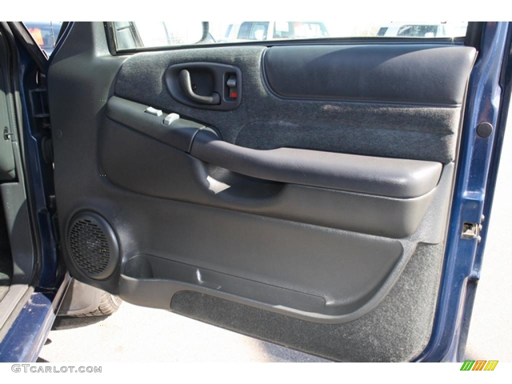 2000 Chevrolet Blazer Ls 4x4 Graphite Gray Door Panel Photo 47133321