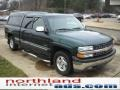 2002 Forest Green Metallic Chevrolet Silverado 1500 LS Extended Cab  photo #15