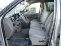 2008 Bright Silver Metallic Dodge Ram 1500 SXT Quad Cab  photo #10