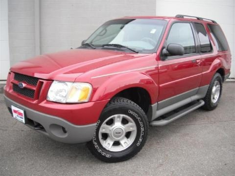 2003 Ford Explorer Sport XLT 4x4 Data, Info and Specs