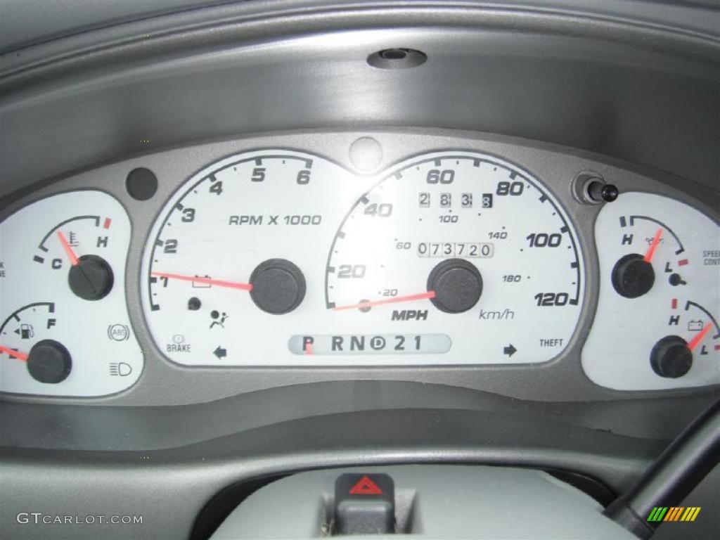 2003 Ford Explorer Sport XLT 4x4 Gauges Photo #47137539