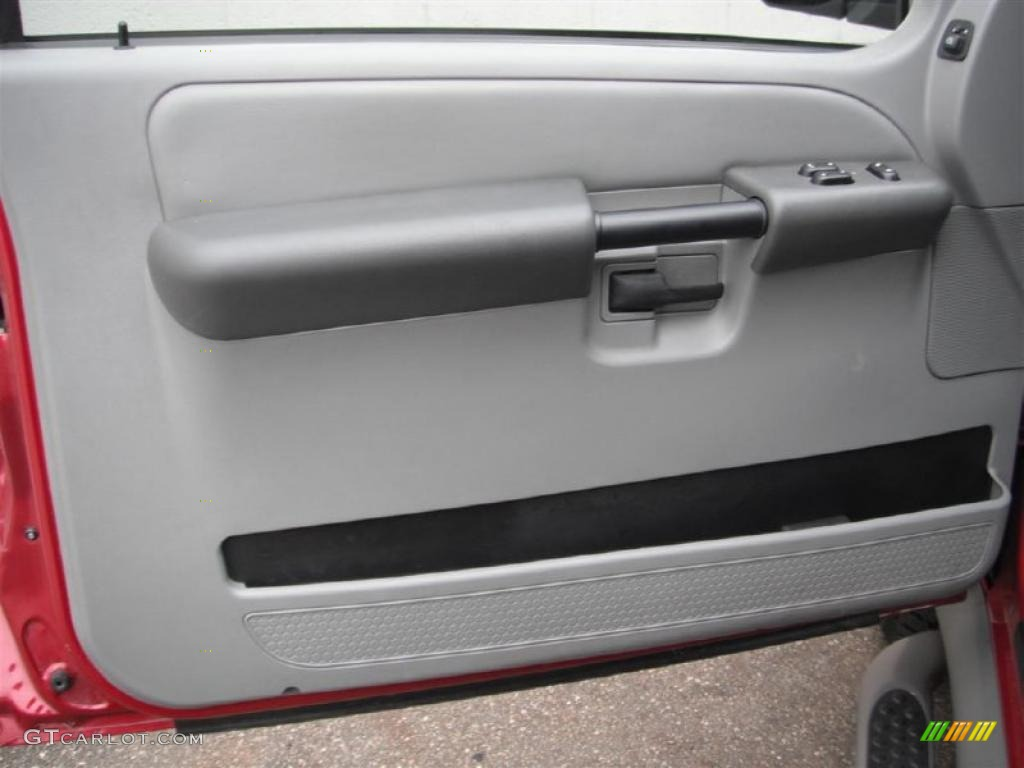 2003 Ford Explorer Sport XLT 4x4 Graphite Grey Door Panel Photo #47137569