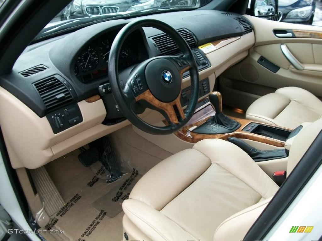beige interior 2002 bmw x5 photo 47145990