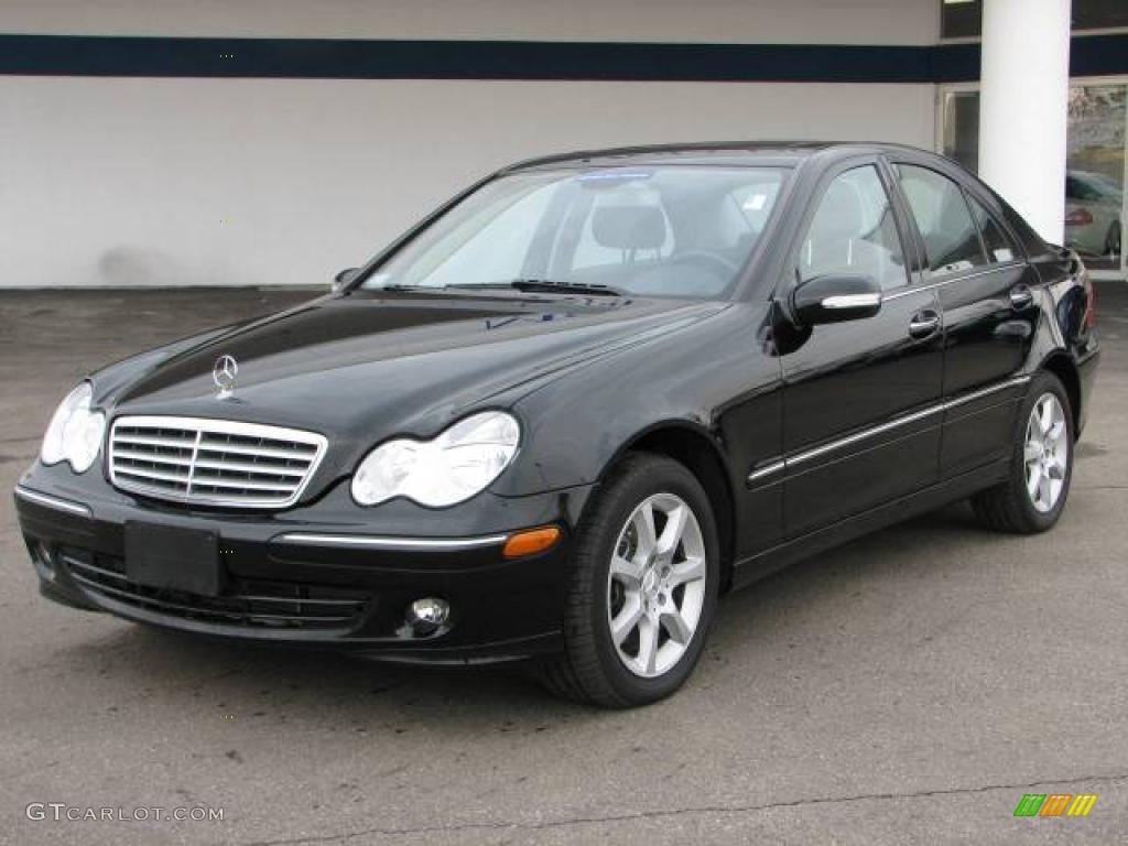 2007 black mercedes benz c 280 4matic luxury 4697402 for 2007 mercedes benz 280