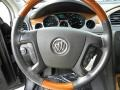 Ebony/Ebony 2008 Buick Enclave CX Steering Wheel