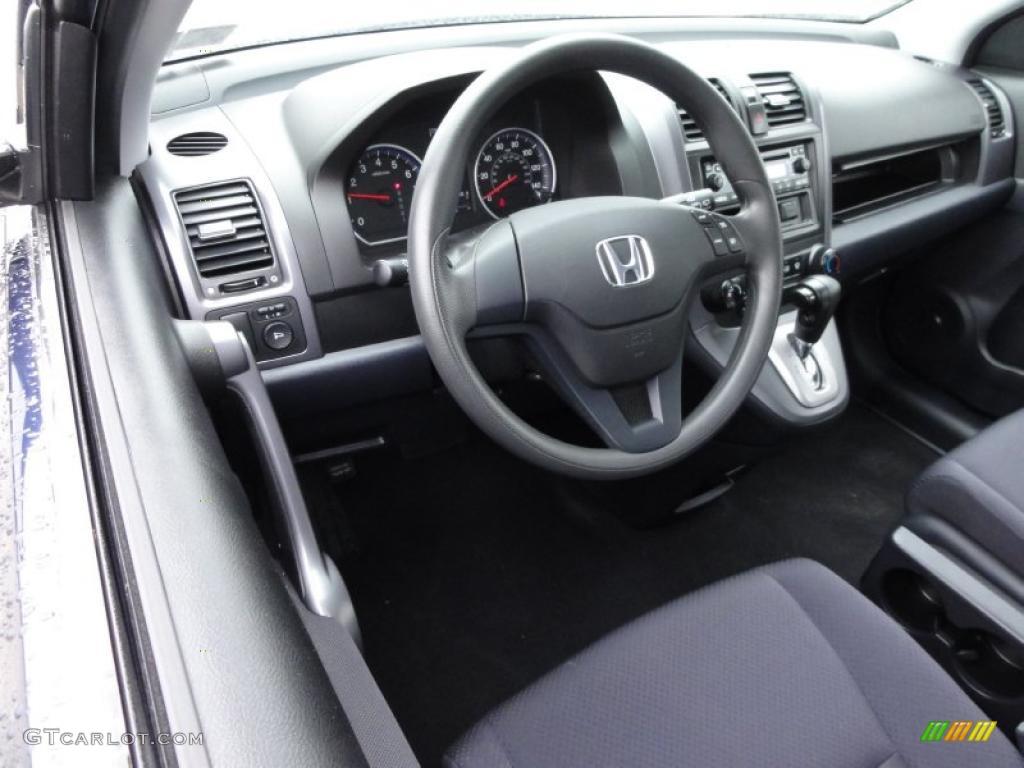 2008 CR-V LX 4WD - Royal Blue Pearl / Black photo #12