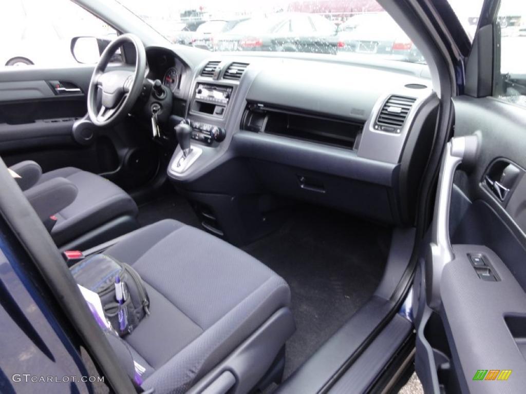 2008 CR-V LX 4WD - Royal Blue Pearl / Black photo #18