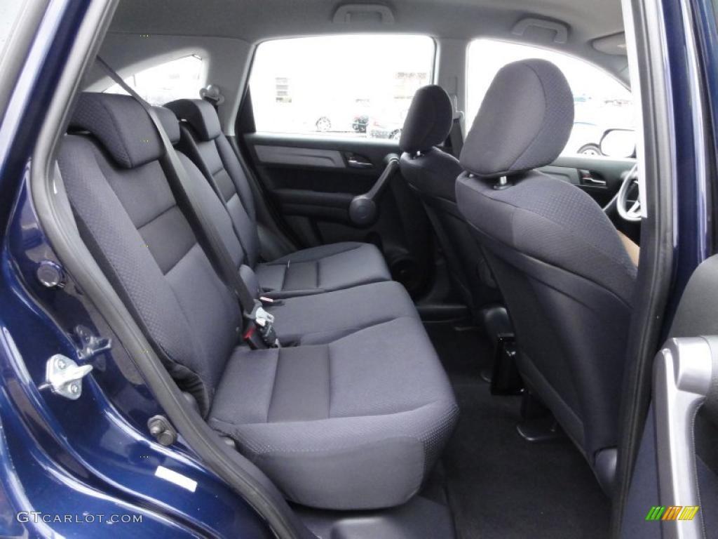 2008 CR-V LX 4WD - Royal Blue Pearl / Black photo #22