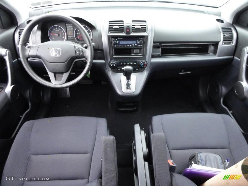 2008 CR-V LX 4WD - Royal Blue Pearl / Black photo #26