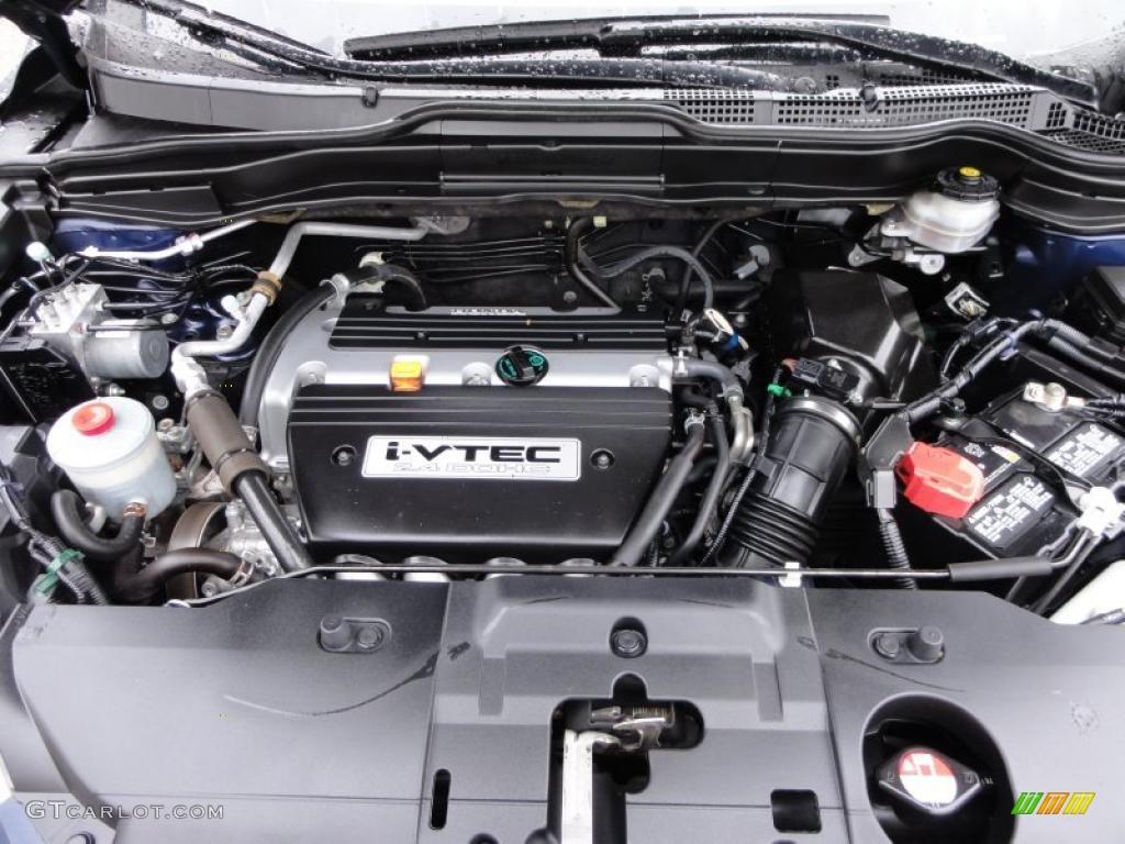 2008 CR-V LX 4WD - Royal Blue Pearl / Black photo #31