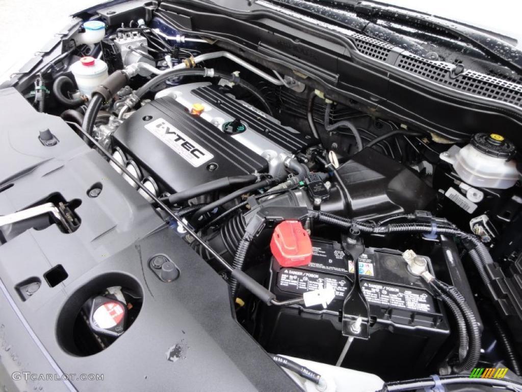 2008 CR-V LX 4WD - Royal Blue Pearl / Black photo #32