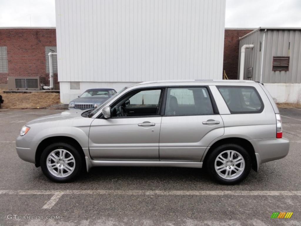 crystal gray metallic 2006 subaru forester 2 5 xt limited. Black Bedroom Furniture Sets. Home Design Ideas