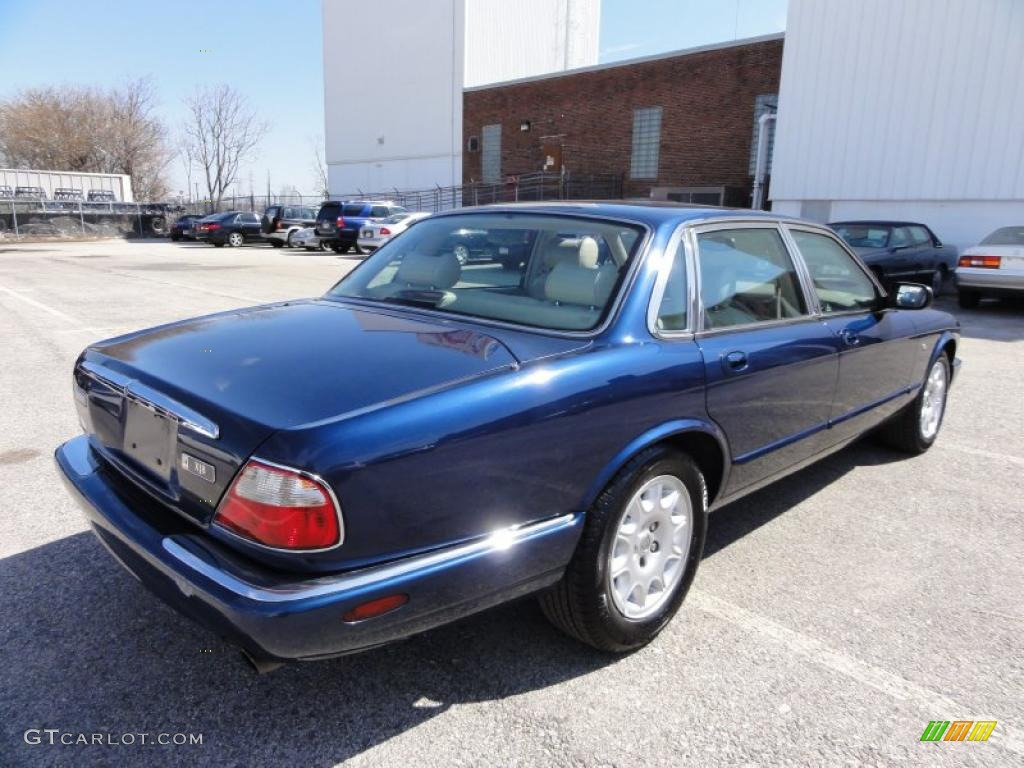 Sapphire blue metallic 1998 jaguar xj xj8 exterior photo for Jaguar xj exterior
