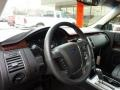Charcoal Black Steering Wheel Photo for 2010 Ford Flex #47177019