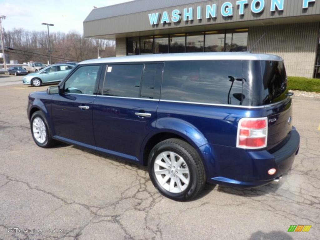 2011 kona blue metallic ford flex sel awd 47157549 photo. Black Bedroom Furniture Sets. Home Design Ideas